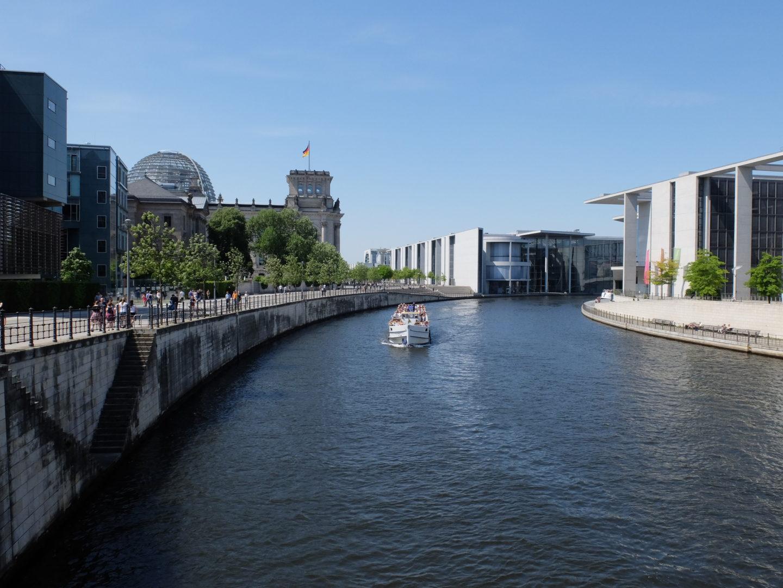 łódka po berlinie
